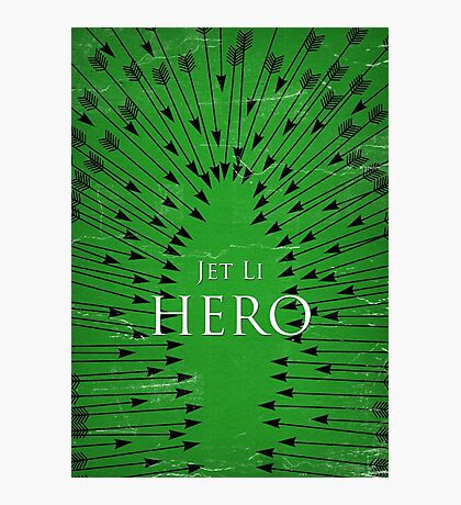 Hero - Green Photographic Print