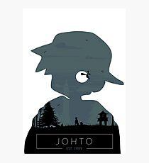 Johto Region- Silver vers. Photographic Print