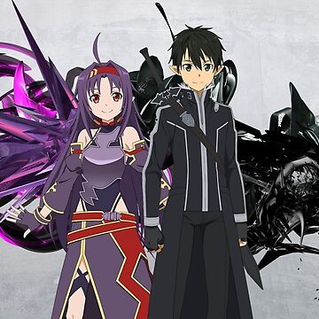 Sword Art Online Kirito and Yuuki by TheSacredGamer1