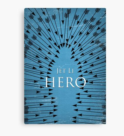 Hero - Blue Canvas Print