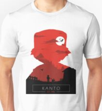 Welcome to Kanto- Red vers. T-Shirt