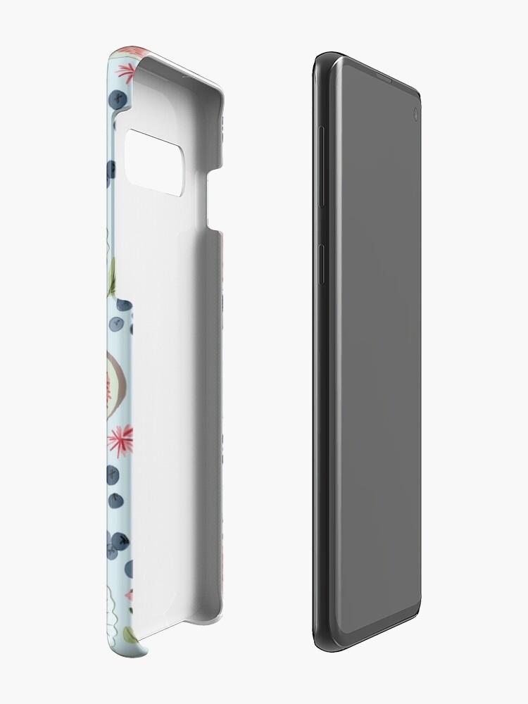 Alternative Ansicht von Blaubeer-Frühstück Hüllen & Klebefolien für Samsung Galaxy