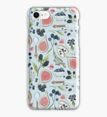 Blueberry Breakfast iPhone Case/Skin