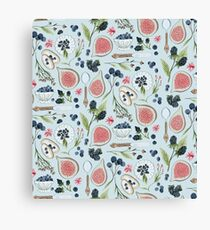 Blueberry Breakfast Canvas Print
