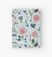 Blueberry Breakfast Hardcover Journal