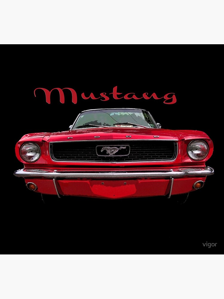 Little Red Mustang by vigor