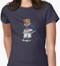 POLO STADIUM BEAR Womens Fitted T-Shirt