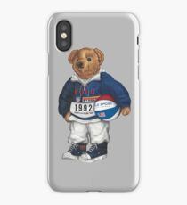 POLO STADIUM BEAR iPhone Case/Skin