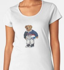 POLO STADIUM BEAR Women's Premium T-Shirt