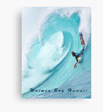 Waimea Big Wave Boogie T-Shirt Metal Print