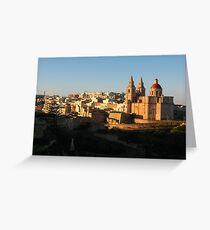 Malta Landscapes Mellieha Greeting Card
