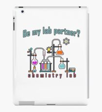 Chemistry lab iPad Case/Skin