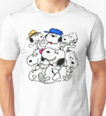 Snoopy's Family Unisex T-Shirt