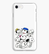 Snoopy's Family iPhone Case/Skin