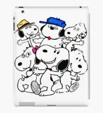 Snoopy's Family iPad Case/Skin