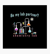 Chemistry lab Photographic Print