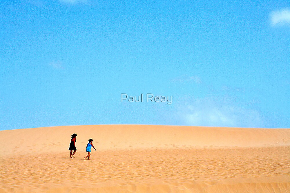 Sand Dunes by Paul Reay