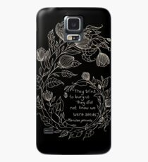 Flowers and Feminism  Case/Skin for Samsung Galaxy