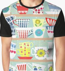 Vintage Scandinavian cups Graphic T-Shirt