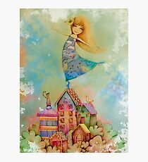 dancing on rooftops Photographic Print