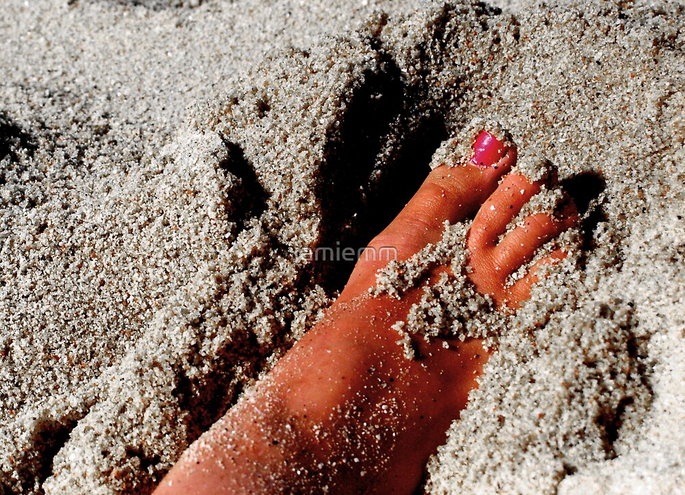 Sandy Foot by jamiemm