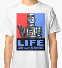 MARVIN THE PARANOID ANDROID - HITCHHIKERS GUIDE TO THE GALAXY Classic T-Shirt