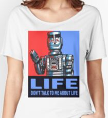 MARVIN THE PARANOID ANDROID - HITCHHIKERS GUIDE TO THE GALAXY Women's Relaxed Fit T-Shirt