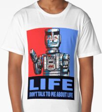 MARVIN THE PARANOID ANDROID - HITCHHIKERS GUIDE TO THE GALAXY Long T-Shirt