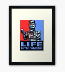 MARVIN THE PARANOID ANDROID - HITCHHIKERS GUIDE TO THE GALAXY Framed Print