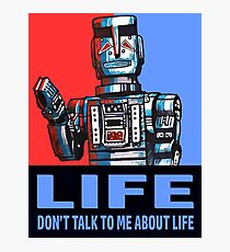 MARVIN THE PARANOID ANDROID - HITCHHIKERS GUIDE TO THE GALAXY Photographic Print