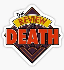 The Review of Death 'Diamond' Logo Sticker
