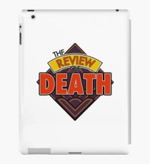 The Review of Death 'Diamond' Logo iPad Case/Skin