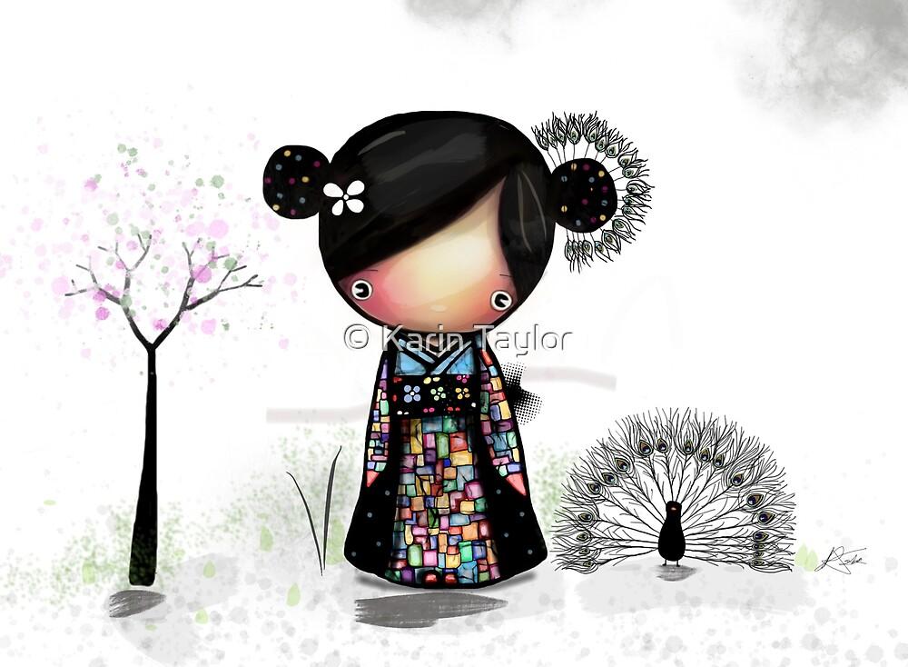 patchwork kimono by Karin Taylor
