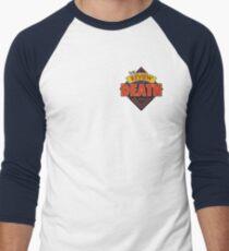 The Review of Death 'Diamond' Logo Men's Baseball ¾ T-Shirt