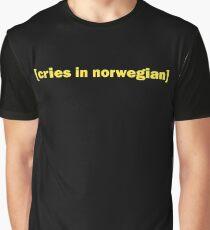 Cries in norwegian - Skam Graphic T-Shirt