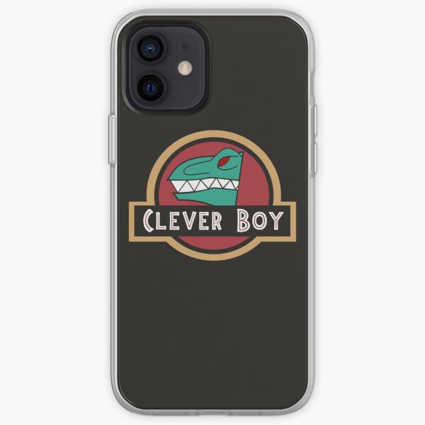 Kyoryu Green - Clever Boy iPhone Soft Case