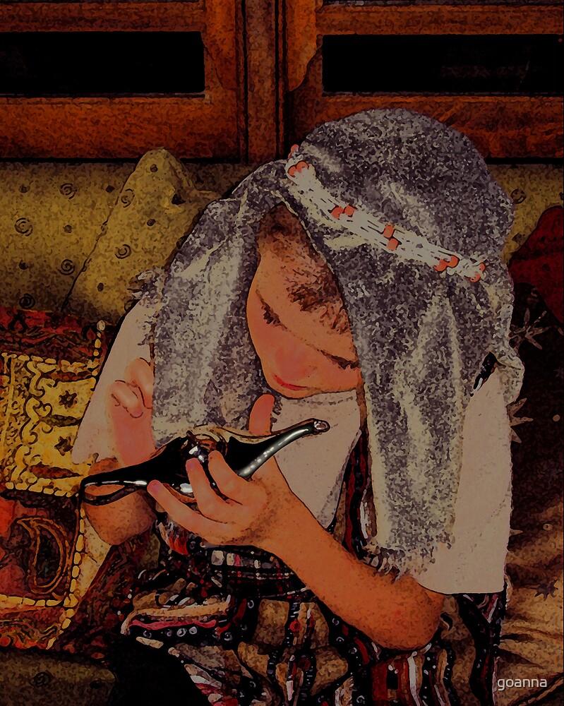 Aladdin's lamp by goanna
