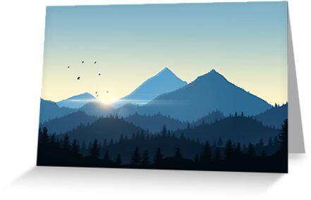 Sunny Landscape by Lollik