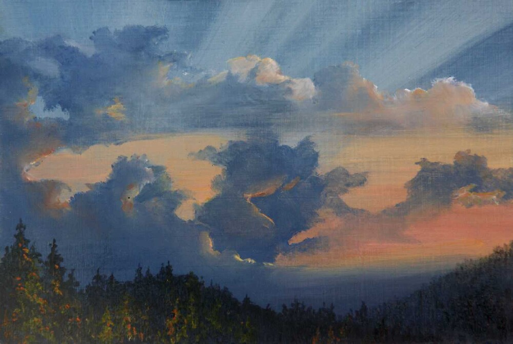 Approaching Storm by Lynne Wright