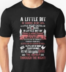 A little bit of Gabriel In My Life.. SPN parody. Unisex T-Shirt