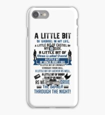 SPN. Supernatural. Winchester brothers. iPhone Case/Skin