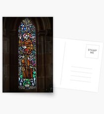 Stained Glass Window Postcards