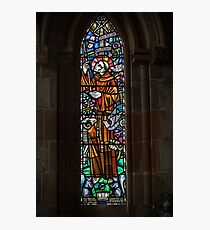 Stained Glass Window Photographic Print