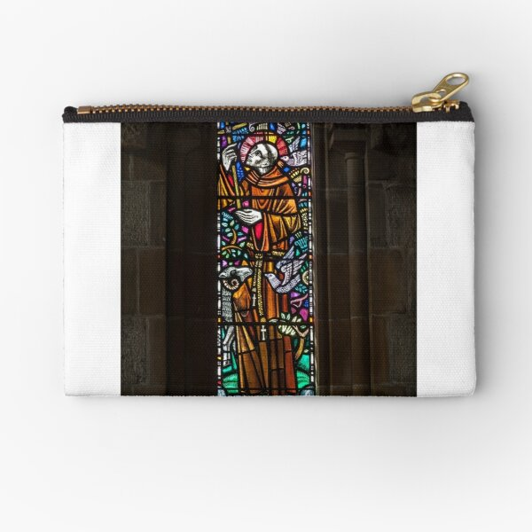 Stained Glass Window Zipper Pouch