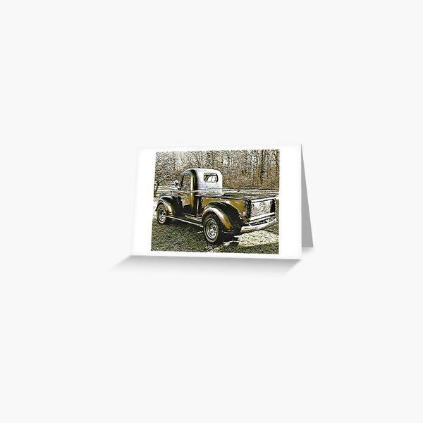 1946 Half Ton Greeting Card