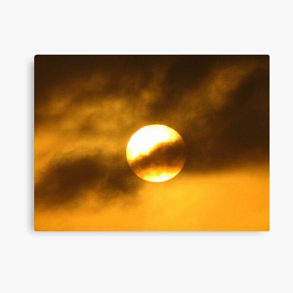Solar Shroud Canvas Print