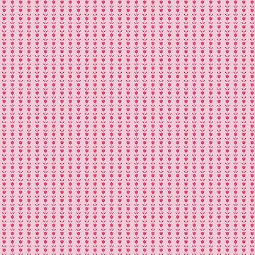 Pequeño patrón de tulipán rosa de EuGeniaArt