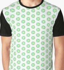 Hexagon Flowers 02 Graphic T-Shirt