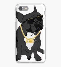 Revert french bulldog called Zeus iPhone Case/Skin