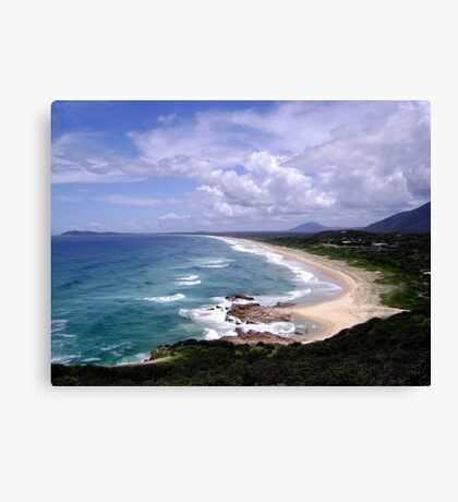 Up North on the East Coast looking South (New South Wales) Canvas Print